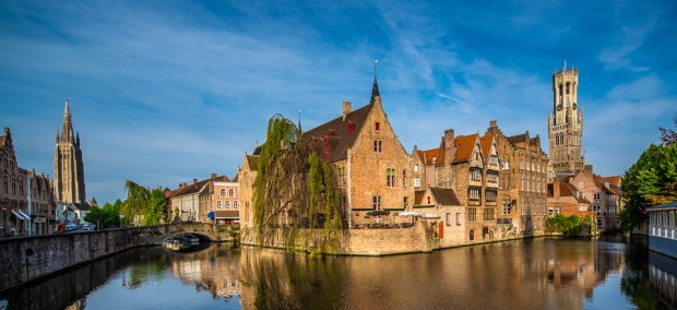 bruges-canal-towers